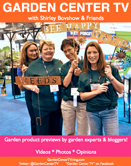 Garden Center TV with Shirley & Garden Bloggers preview new garden products