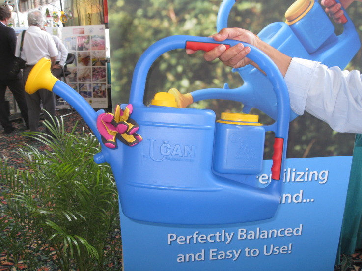 The UCAN watering system on Garden Center TV