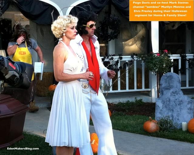 Paige-Davis-Mark-Steines-Halloween