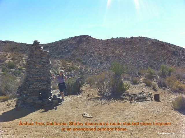 Garden designer Shirley Bovshow explores the beauty of the high desert at Joshua Tree, California.