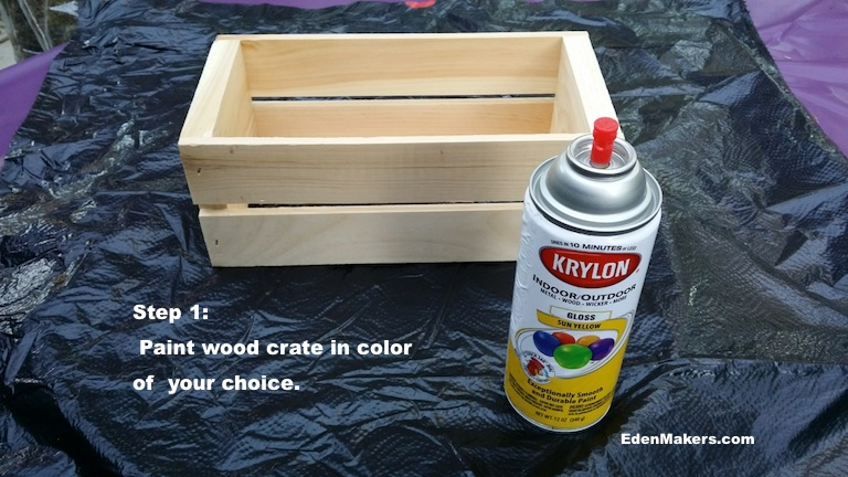 krylon-sunny-yellow-gloss-spray-paint-and-crate-edenmakers