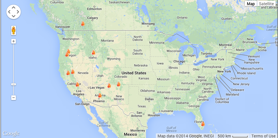 Brush-Fires-North-America-June-19-2014