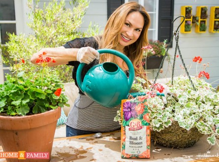 garden-expert-designer-shirley-bovshow-watering-plants-home-and-family-show-hallmark