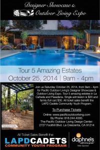 Pacific Outdoor Living Design Showcase and Outdoor Living Expo in Pasadena and La Canada