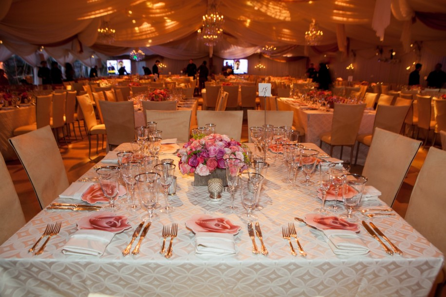 Winter TCA 2015Crown-Media-hallmark-channel-shows-dinner-placesetting-pink-roses