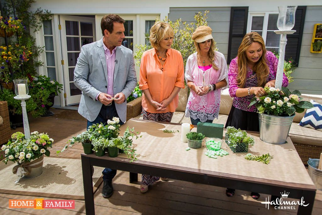 garden-designer-shirley-bovshow-creates-live-plant-wedding-aisle-luminary-home-and-family-show-hallmark-channel-Paige-Hemmis-wedding-cristina-ferrare-mark-steines