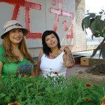 Garden World Report host Shirley Bovshow and guest, Adriana Martinez of Anarchy Garden