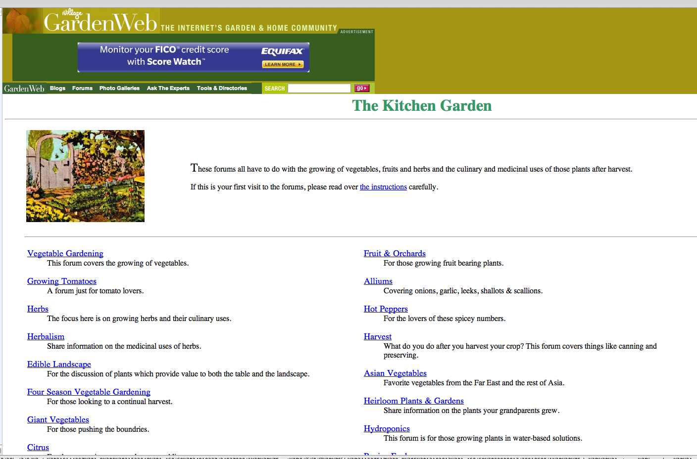 kitchen forum garden web