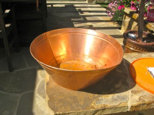 copper beverage cooler