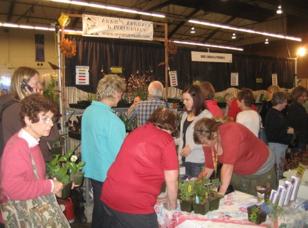Image of crowd at San Francisco Flower and Garden Show by Shirley Bovshow