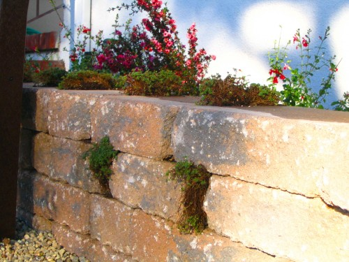 Celtic retaining wall system from Belgard