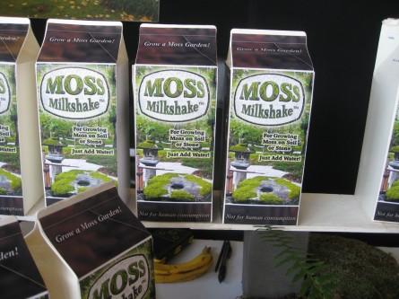 moss milk shake